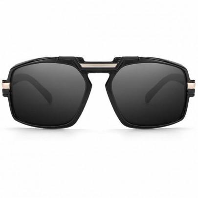 Slnečné okuliare Chevi celé čierne