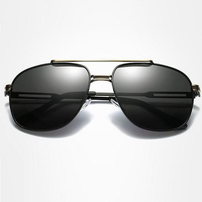 36162eb39 Polarizačné slnečné okuliare pilotky Andree zlaté čierne | Bellago.sk