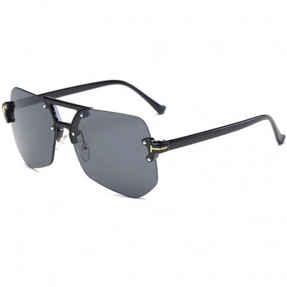 Pánske slnečné okuliare Chris celé čierne