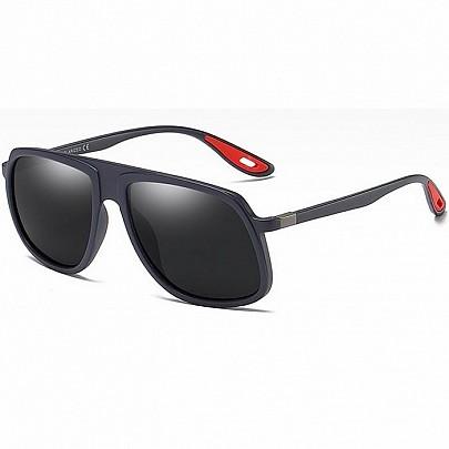 Polarizačné slnečné okuliare Gareth sivé