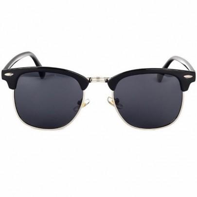 Slnečné okuliare Sergio čierne strieborné
