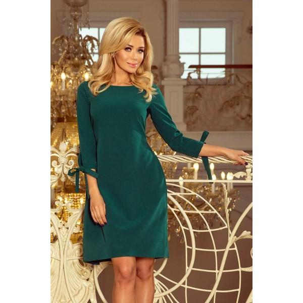 Pútavé dámske šaty Leah - zelené 195-1