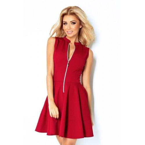 cee96ce7149f Nevšední dámské šaty Caprice - bordové v123-4