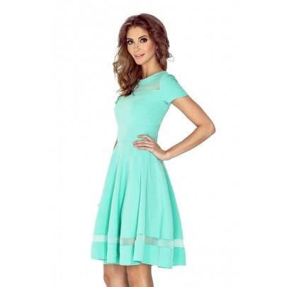 Štýlové dámske šaty Diane - mätové vMM 003-1