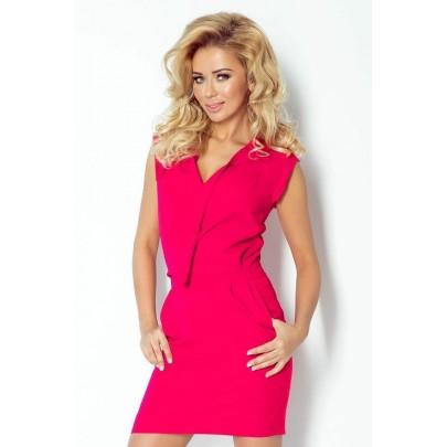 Atraktívne šaty Kirsten - ružové v94-9