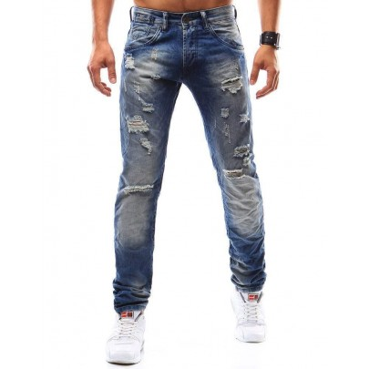 Jedinečné modré džínsy Alessio vux0938