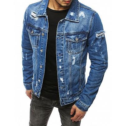 Modrá pánska rifľová bunda tx3171