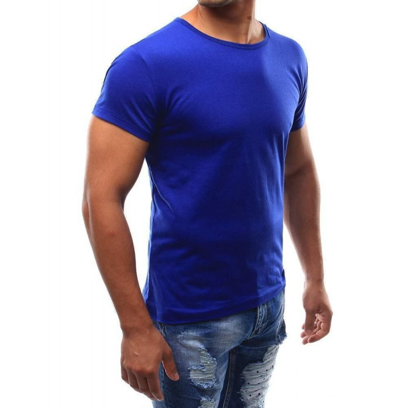 7f08f6a2afb8 ... Klasické pánske tričko - bledomodré rx2577