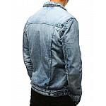 Riflová modrá pánska bunda tx2641