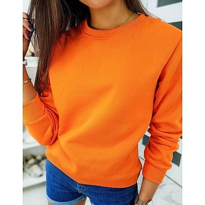 Dámska mikina oranžová vby0317