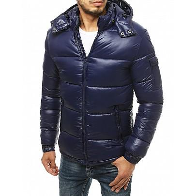 Zimná pánska bunda modrá vtx3471
