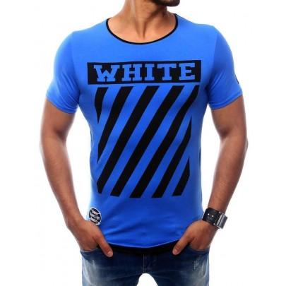 Pohodlné pánske tričko - svetlo modré vrx2566