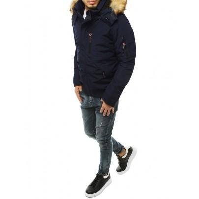 Pánska modrá zimná bunda tx3601