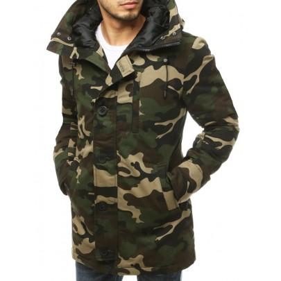 Zelená pánska zimná army bunda vtx3476