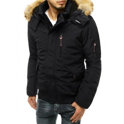 Pánska čierna zimná bunda vtx3600