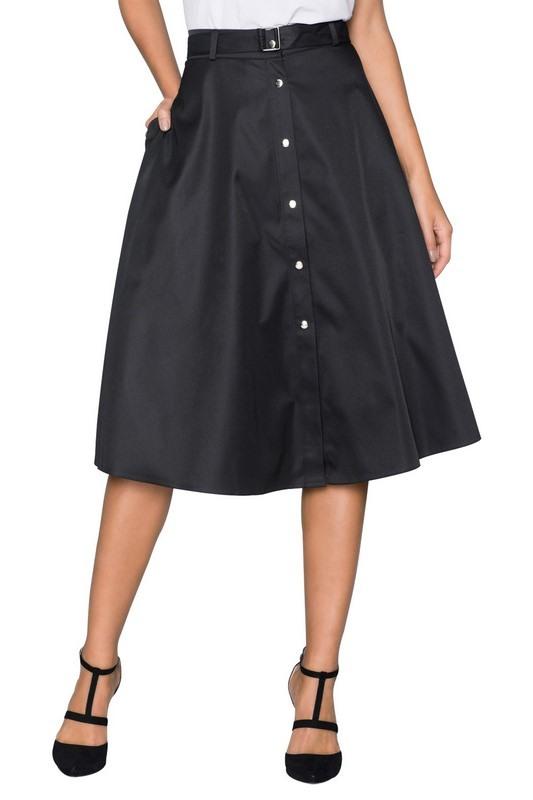 Dámska čierna sukňa