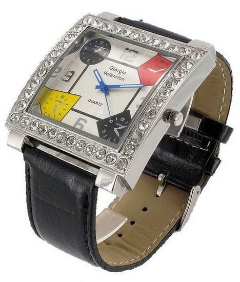 Dámske hranaté hodinky Giorgie Valentian YR