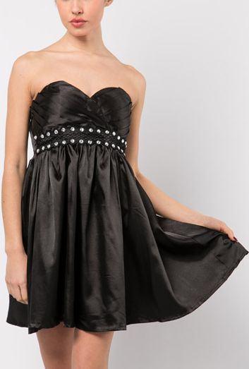 Dámske šaty Diamond - čierne