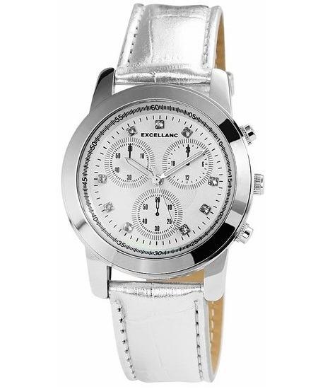 Dámske hodinky Excellanc White - strieborné