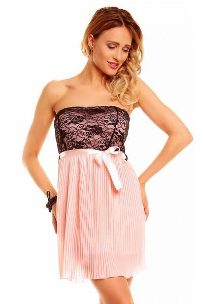 Dámske ružové šaty Nataly
