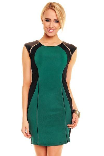 Dámske zelené šaty Evelin