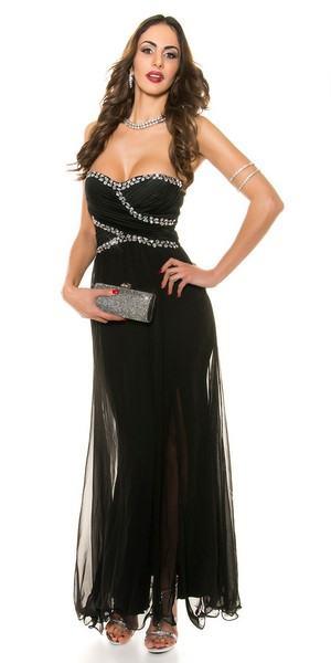 Dámske spoločenské šaty Marleigh - čierne
