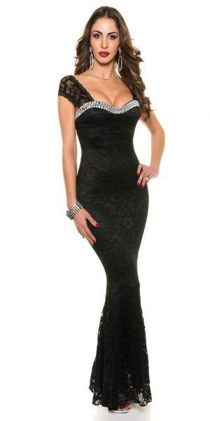 Dámske spoločenské šaty Avalyn - čierne