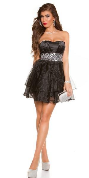 Dámske spoločenské šaty Joyce - čierne
