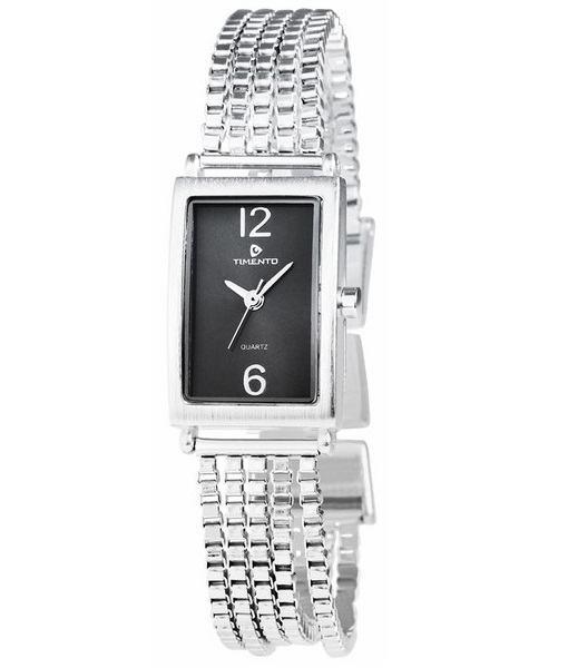 Dámske luxusné hodinky Timento strieborné