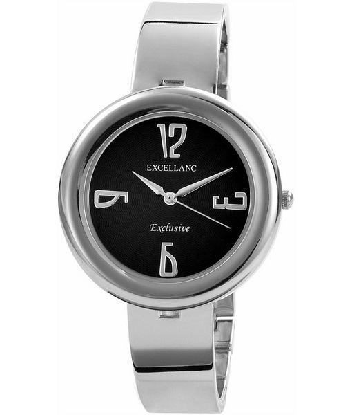 Dámske hodinky Excellanc strieborné Black