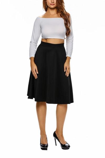 Dámska sukňa - čierna