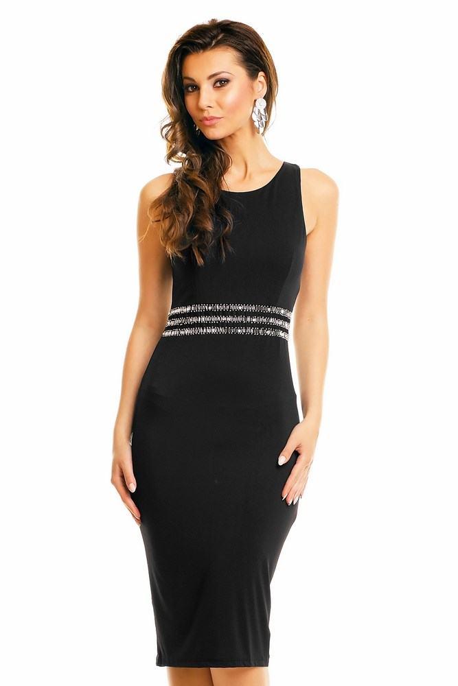 Dámske šaty Voye čierne