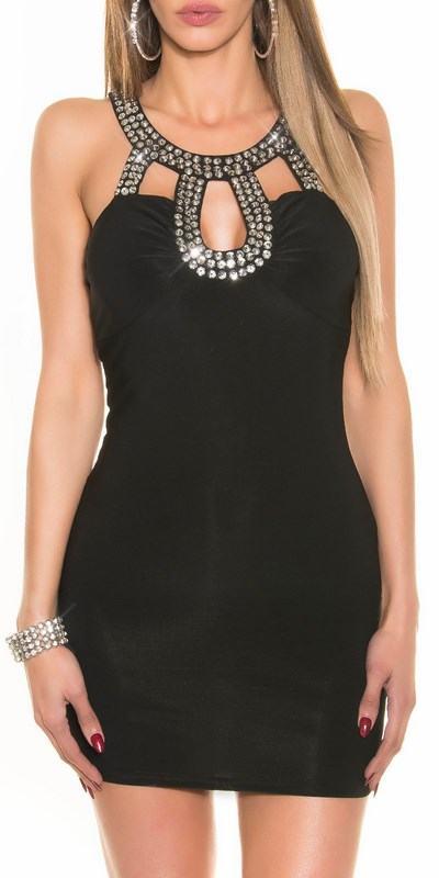 Dámske šaty Alyss čierne