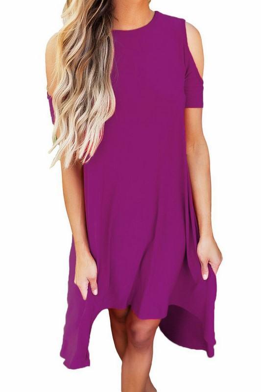 Dámske šaty Cristina - fialové