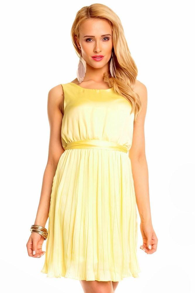 Dámske šaty Maya žlté