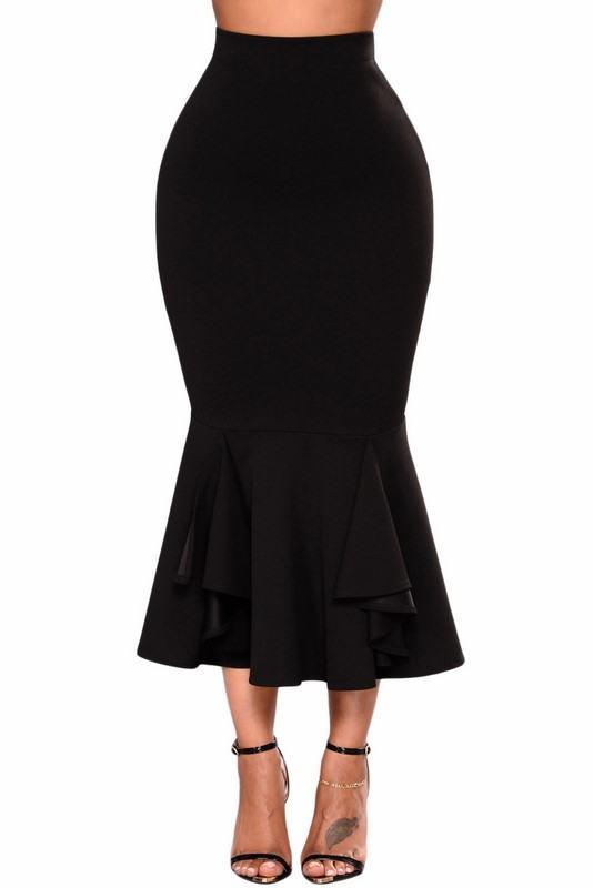Dámska sukňa Kendra - čierna