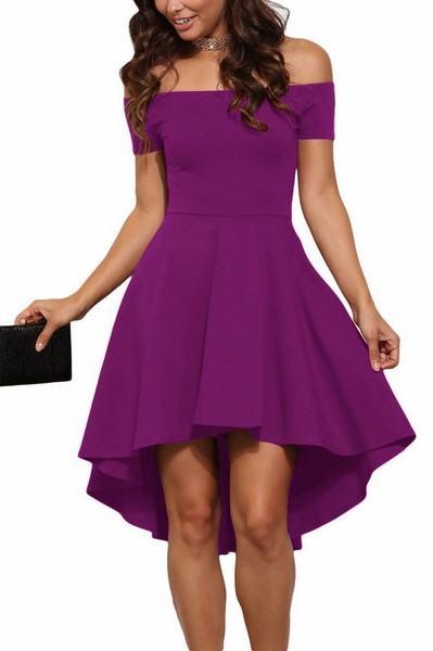 Dámske šaty Noelia - fialové