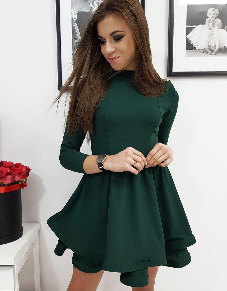 Dámske zelené šaty ABRIANA ey1069